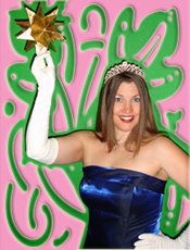 You'll be a star at your princess party hosted by Princess Heather!